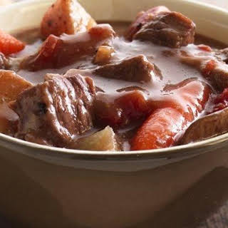 Slow-Cooker Beef Stew with Shiitake Mushrooms.