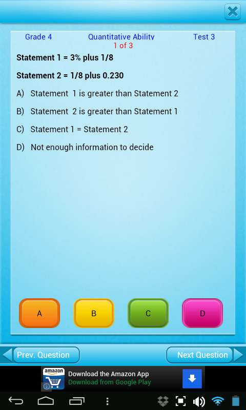 Free Grade 3 4 5 6 7 8 9 math- screenshot