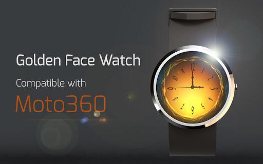 Golden Face Watch