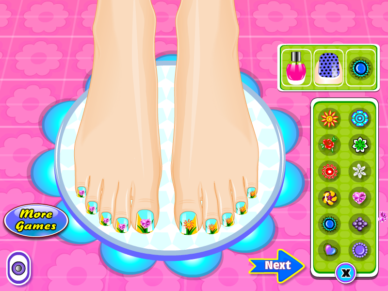 Beauty Salon Nail Games- screenshot