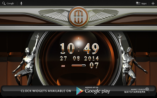 Next Launcher Theme Bernstein app for Android screenshot