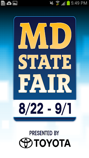 The 133rd Maryland State Fair