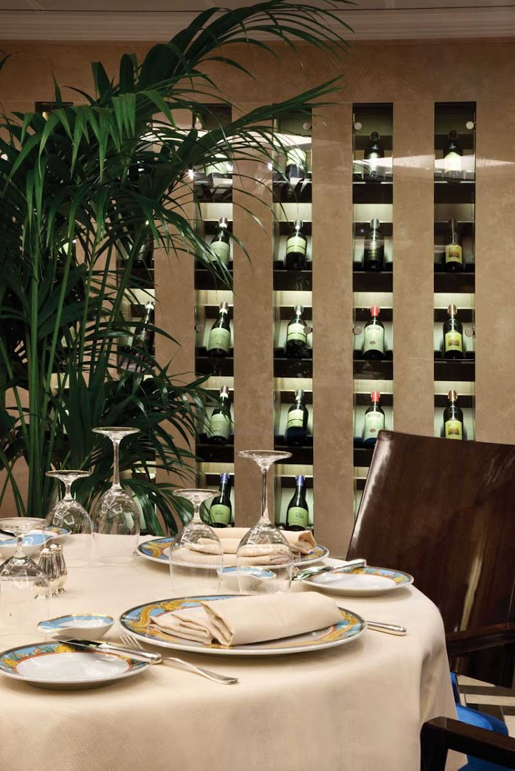 Oceania Riviera's Toscana restaurant will bring the flavors of Italy to your cruise.