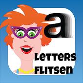 Juf Jannie - letters flitsen