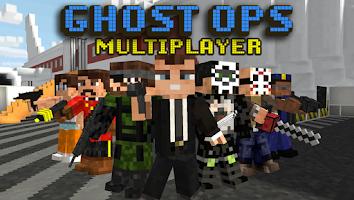 Screenshot of Block Gun 3D: Ghost Ops