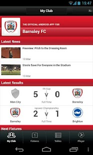 Football League Clubs' App - screenshot thumbnail