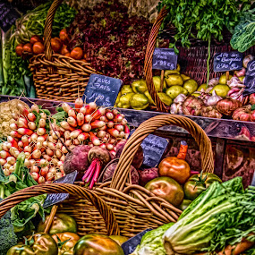 market art by Tanya Popove - Food & Drink Fruits & Vegetables ( photo effect, fruit, market, art, vegetables, perfect, painting )