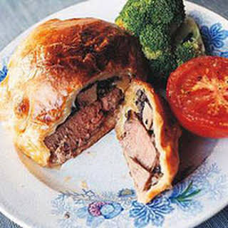 Individual Beef Wellington With Puff Pastry Recipes.