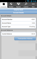 Screenshot of Emprise Bank