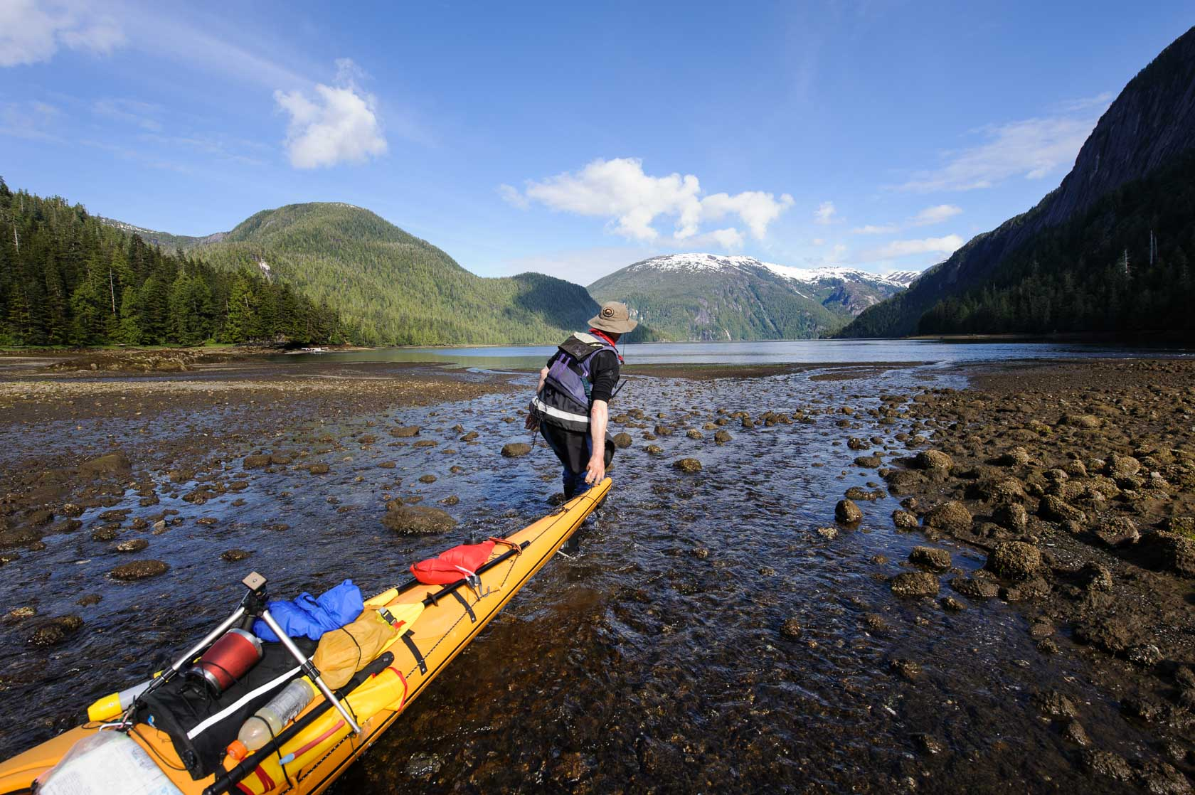 Kayak Touring, Misty Fiords National Monument