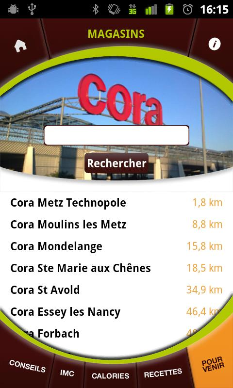 Cora Cafétéria - screenshot