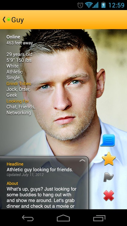 Grindr - Gay, bi & curious guy - screenshot