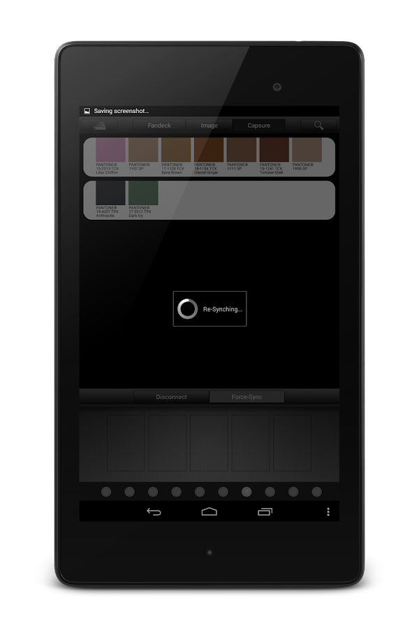 myPantone - screenshot