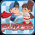 Free Kids Puzzles - Fun & Easy icon
