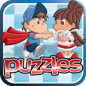 Free Kids Puzzles - Fun & Easy