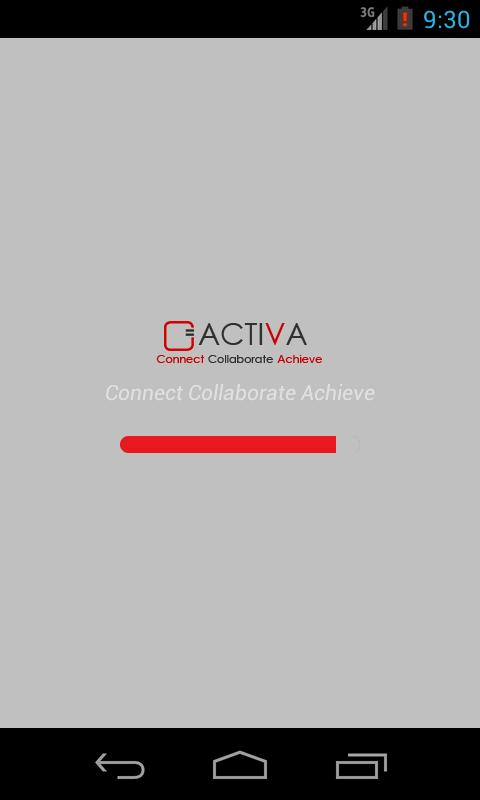 ACTIVA TECHNOLOGY APP - screenshot