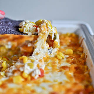 Hot + Cheesy Corn Dip.