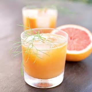Grapefruit Fennel Juice.