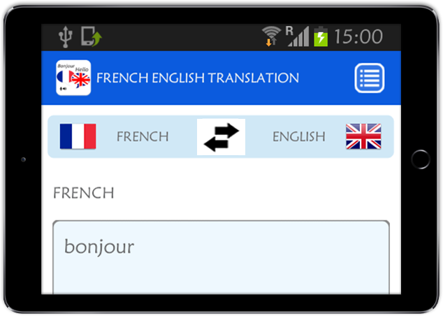 french english translator android apps on google play. Black Bedroom Furniture Sets. Home Design Ideas