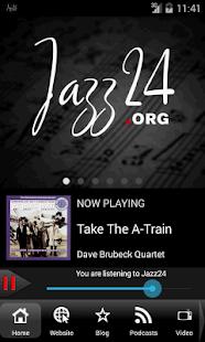 Jazz24: Streaming Jazz 24/7 - screenshot thumbnail