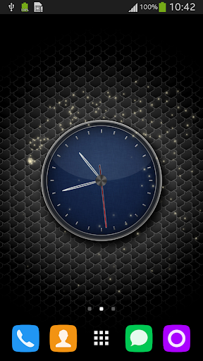 Clock LWP for Galaxy S5