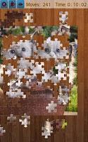 Screenshot of Cats Jigsaw Puzzles