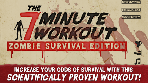 7 Minute Workout Zombies Ed.