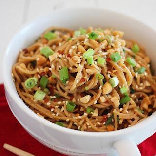 Vegetarian Asian Noodle Recipes.
