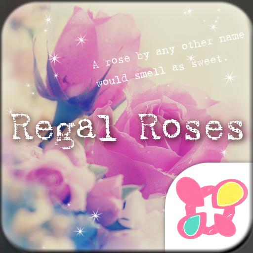 Flower Wallpaper Regal Roses Icon