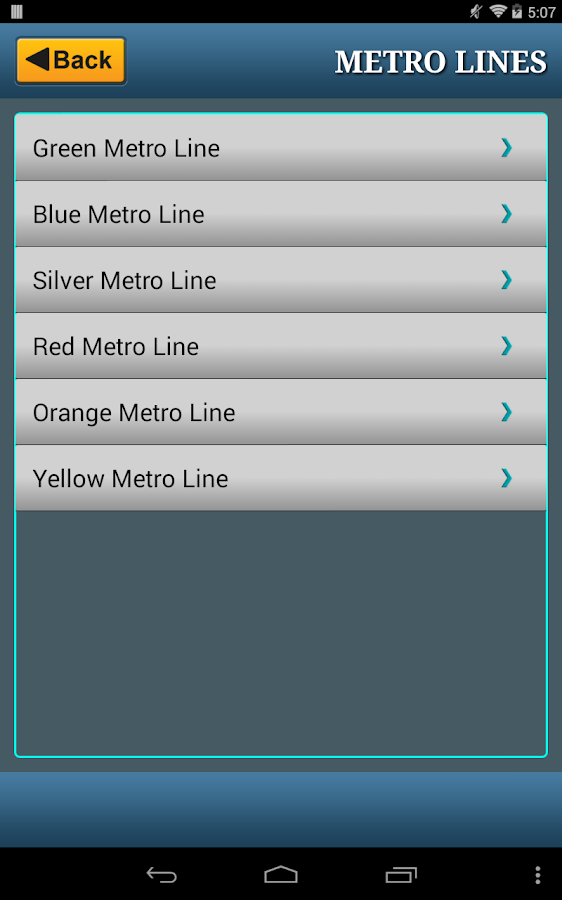 Washington DC Metro RAIL & BUS- screenshot
