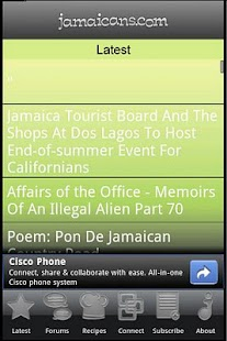 Jamaicans.com- screenshot thumbnail
