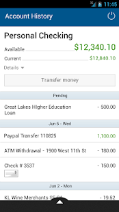 BancFirst Mobile Banking - screenshot thumbnail