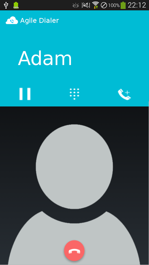 AgileDial SIP VOIP Softphone- screenshot