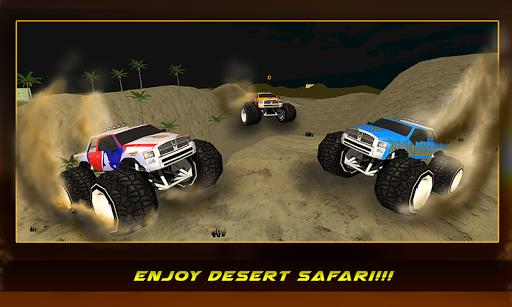 4 × 4 사막 오프로드 스턴트 트럭