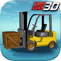3D Forklift Parking Driving+ icon
