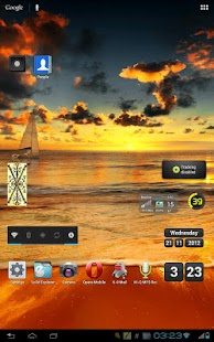 Peacefull Sea Dawn LWP - screenshot thumbnail