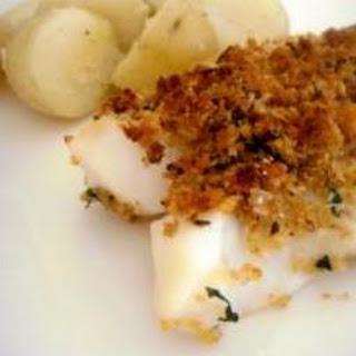 Baked Parmesan Fish.