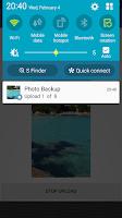 Screenshot of FB Photo Backup