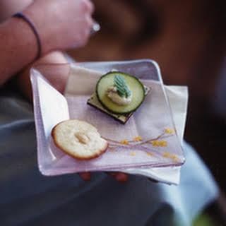 Cucumber-Mint Tea Sandwiches.