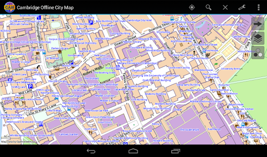 Cambridge Offline City Map- screenshot thumbnail
