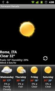 Football Digital Weather Clock- screenshot thumbnail