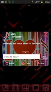 GO SMS Pro Theme 4 music- screenshot thumbnail