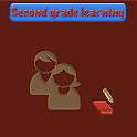Second grade learning icon