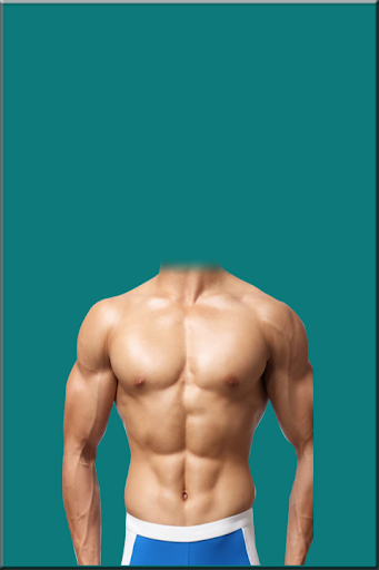 Bodybuilder Man Suit