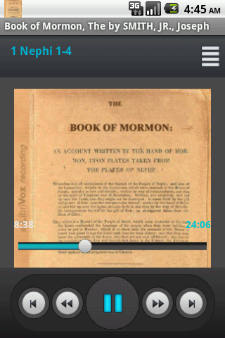 Book of Mormon Audiobook