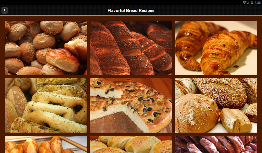 850 Flavorful Bread Recipes- screenshot