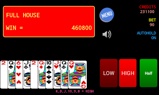 Jolly Card Poker- screenshot thumbnail