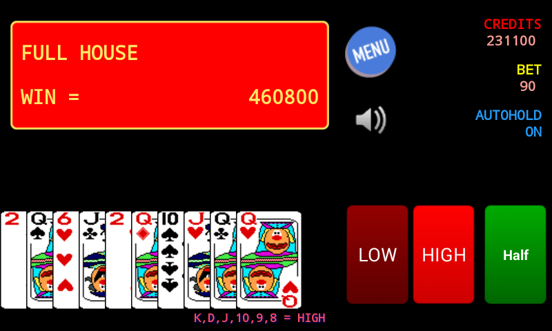 Jolly Card Poker- screenshot