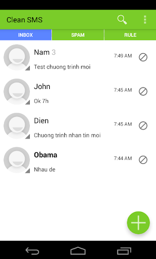 Clean SMS