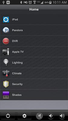 Crestron App - screenshot